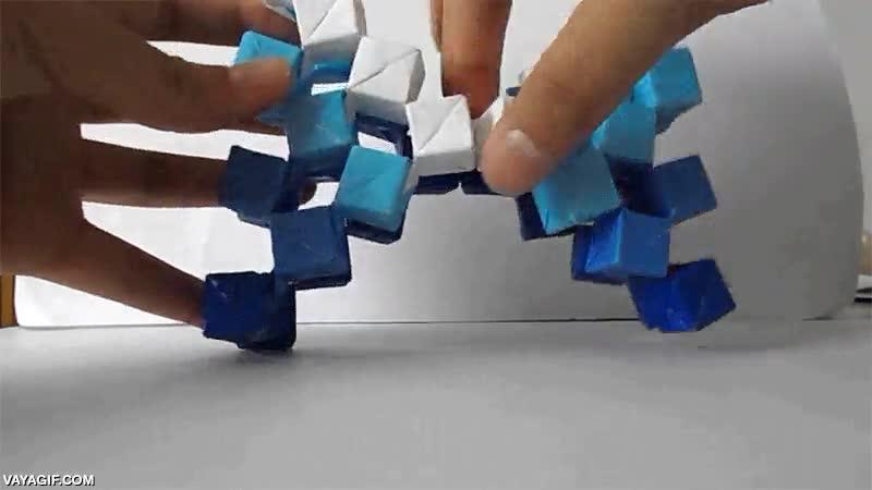Enlace a Nunca has visto un origami como éste