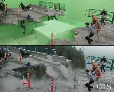 Enlace a Así se graban la mayoría de escenas de acción hoy en día