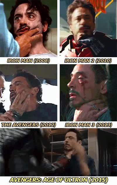 Enlace a Hay que ver la manía que le tienen todos al cuello de Tony Stark