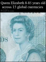 Enlace a La evolución de la Reina Isabel II vista a través de 15 billetes a lo largo de la historia