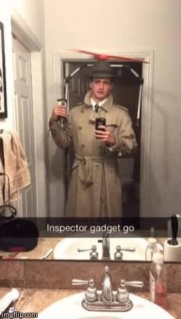 Enlace a No hay un disfraz de Inspector Gadget mejor que éste