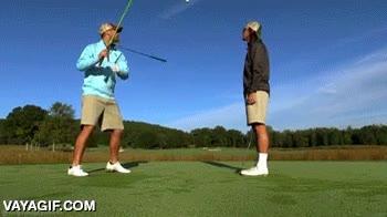 Enlace a Auténticos maestros del golf aunque de manera poco ortodoxa