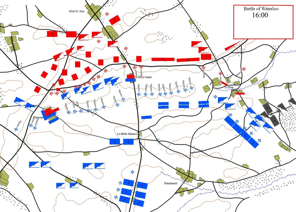 Enlace a Un poco de historia bélica, así se desarrolló la batalla de Waterloo en 1815