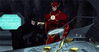 Enlace a Batman recibiendo un mensaje de parte de su padre