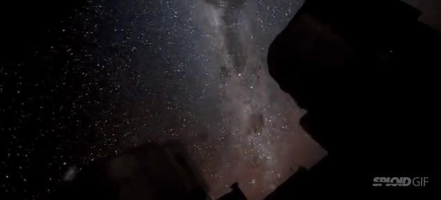 Enlace a Estabilizando un time-lapse del cielo nocturno se puede apreciar la cuánto llegar a rotar la Tierra