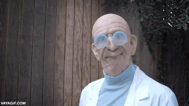 Enlace a ¡El profesor Farnsworth existe!
