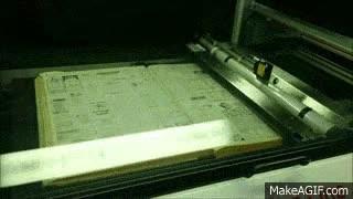 Enlace a Un escáner de libros capaz de ventilarse un libro entero en cuestión de minutos
