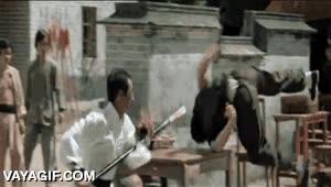 Enlace a Una de las mejores coreografías del cine de artes marciales