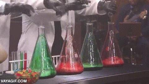 Enlace a La magia de la química