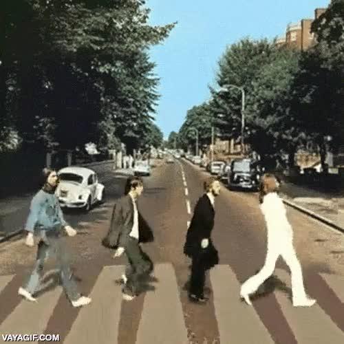Enlace a La mítica Abbey Road en movimiento