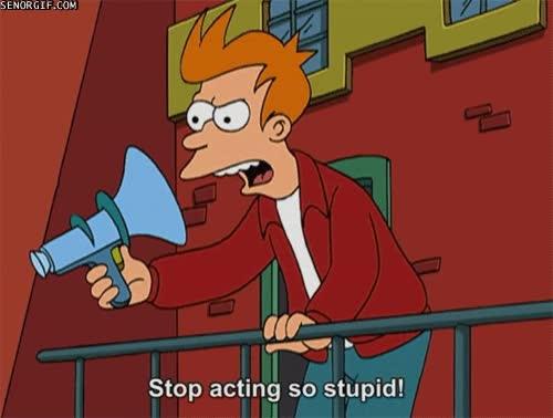 Enlace a La mayoría de personas que se quejan de lo tontos que son los demás...