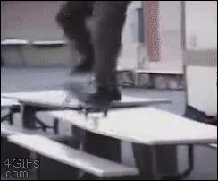 Enlace a Trucos hasta con el skate del revés