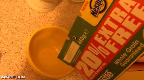 Enlace a Cuando hace mucho tiempo que tienes una caja de cereales abierta
