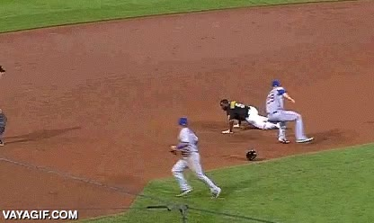 Enlace a En el baseball no todo es lanzar y batear, ojo a este genio