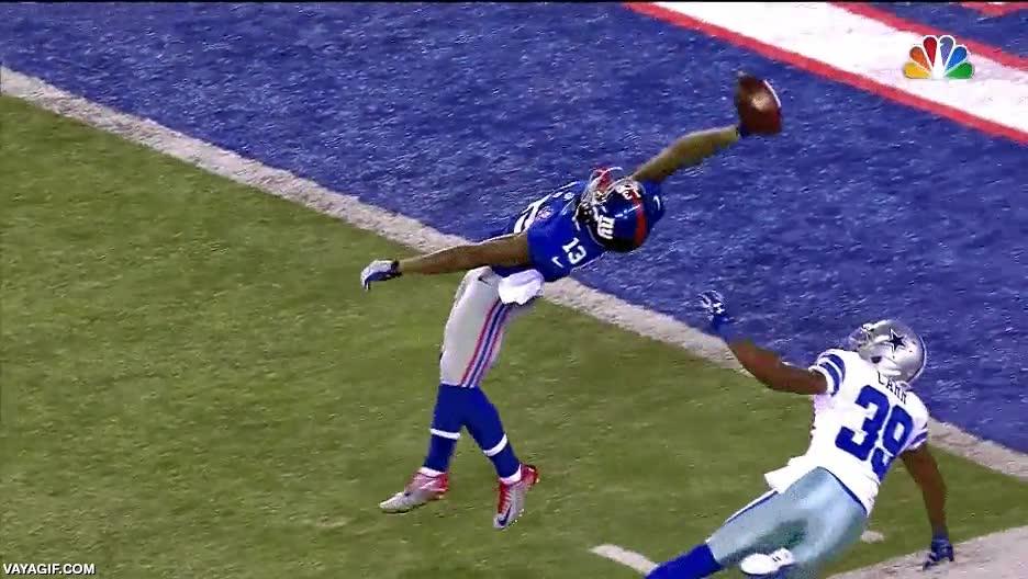 Enlace a Probablemente, una de las mejores atrapadas al vuelo de la historia de la NFL