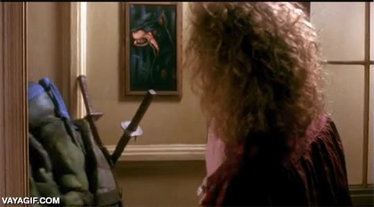 Enlace a Así era el cine de antes, atención a la espada de Leonardo