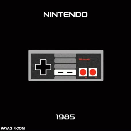 Enlace a 35 años de mandos geniales, cortesía de Nintendo