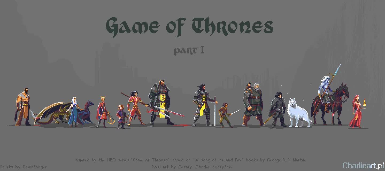 Enlace a Si os gustó el pixel art de Juego de Tronos, aquí está la colección completa