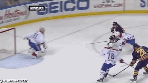 Enlace a Un golazo en hockey sobre hielo cuando todo parecía perdido