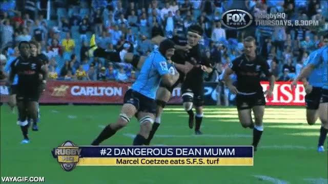 Enlace a Dean Mumm, la bestia imparable del rugby