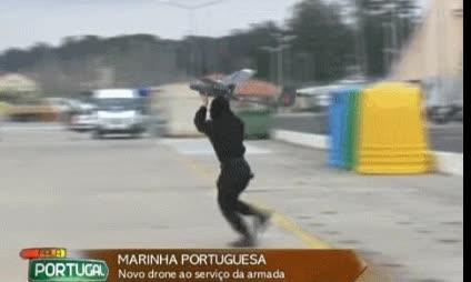 Enlace a Portugal inicia así su programa de drones del ejército