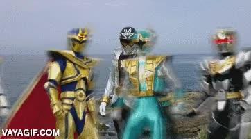 Enlace a El master de los Power Rangers