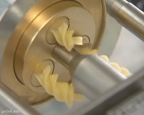 Enlace a Así se hacen las espirales de pasta