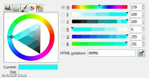Enlace a Todos los colores que pueden aparecer en un gif