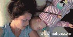 Enlace a No se puede dormir como un bebé al lado de un bebé