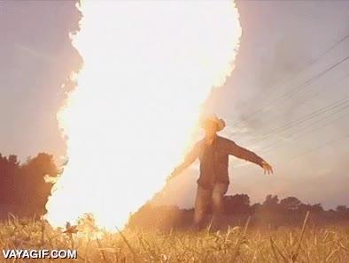 Enlace a El poder de un látigo de fuego