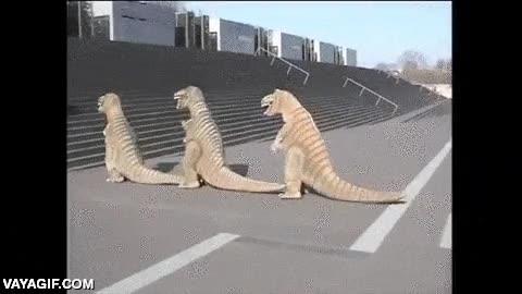 Enlace a Es una pena que los dinosaurios se extinguieran, con el ritmo que tenían...