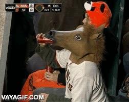 Enlace a Este caballo tiene una manera muy extraña de beber