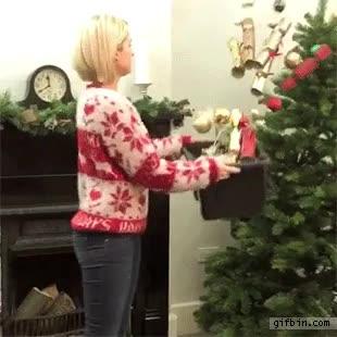 Enlace a ¿Te da mucho palo decorar el árbol de Navidad? ¡Llama a esta chica!