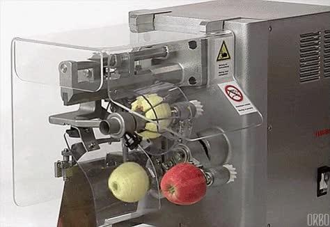 Enlace a ¿Cansado de pelar y cortar las manzanas a mano? ¡Cómprate uno de estos!
