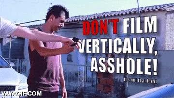 Enlace a ¡Di NO a los vídeos verticales!