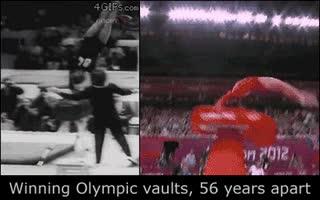 Enlace a Lo que era necesario para ganar una medalla de oro hace 56 años y ahora