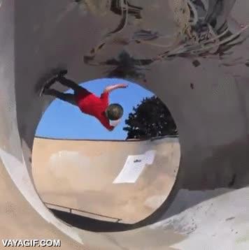Enlace a Haciendo un looping perfecto con el skate