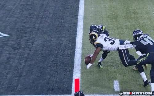 Enlace a Salvando un touchdown en el último instante
