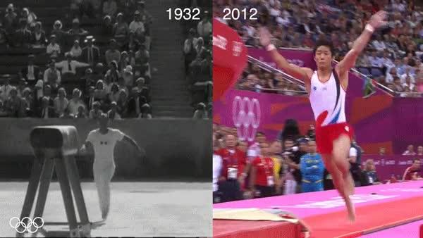Enlace a Las cosas también han cambiado un poco en la gimnasia masculina en las Olimpiadas