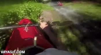Enlace a Hace falta muy poca agua para hacer un descenso en kayak