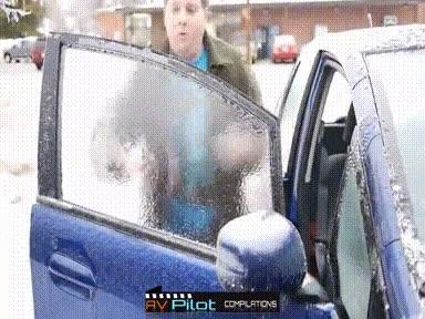 Enlace a Dejar que se congele la ventanilla de tu coche y sentirte el increíble Hulk