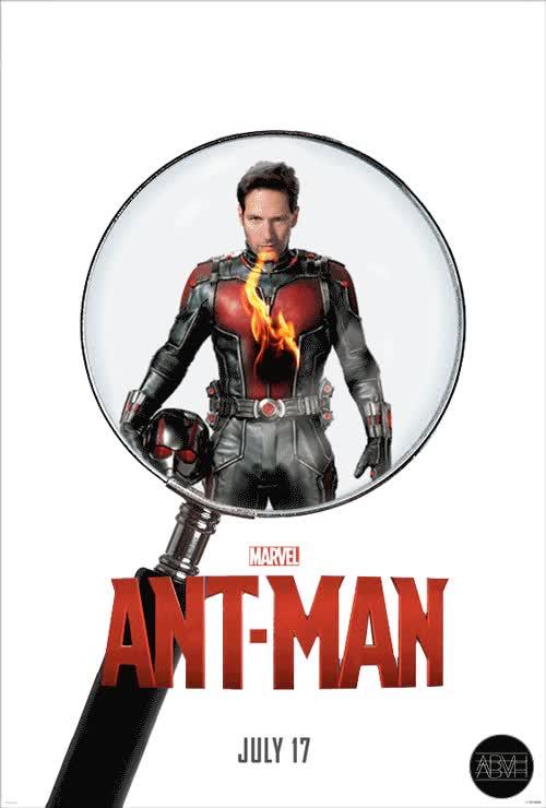 Enlace a Un divertido cartel promocional de la próxima peli de Marvel, Ant-Man