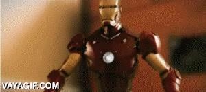 Enlace a Iron Man vs Bruce Lee en stop motion