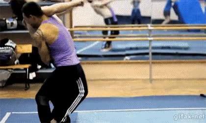 Enlace a Una maniobra de lucha perfecta