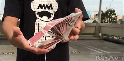 Enlace a Un manejo increíble de las cartas