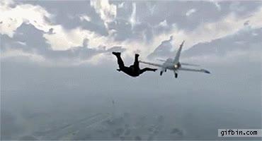 Enlace a ''Enebrando la aguja'' en GTA, nivel paracaidista