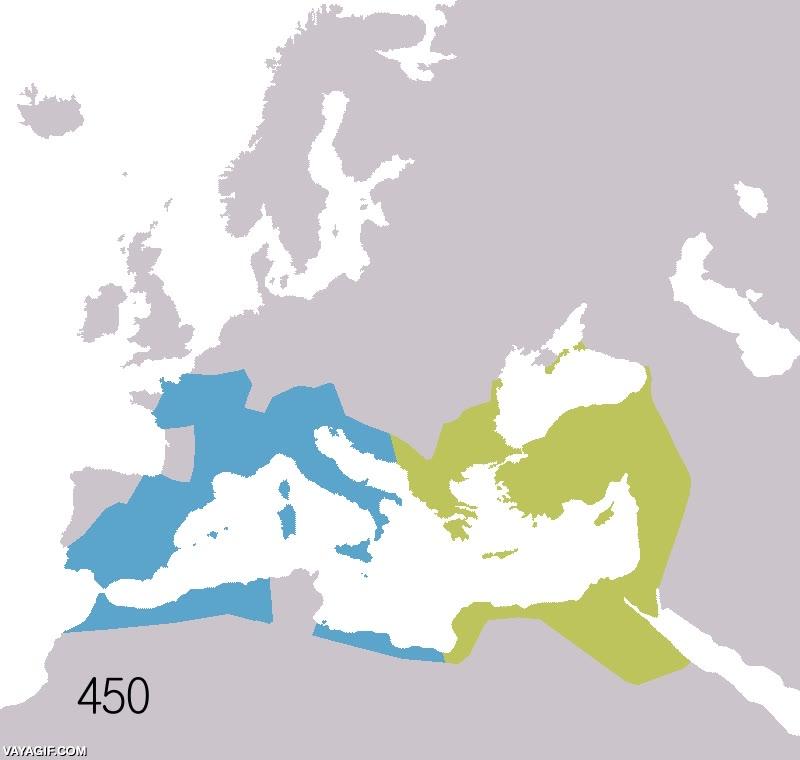 Enlace a El auge y extinción del Imperio Romano