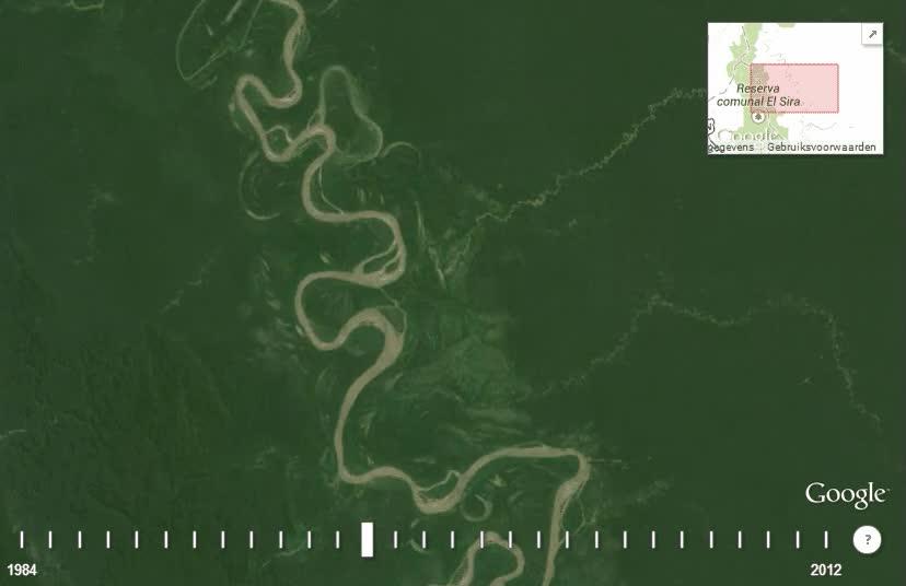 Enlace a Casi 30 años de cambios en el cauce de este río