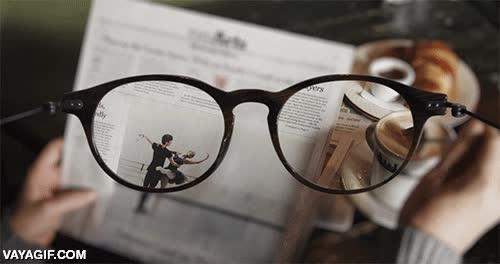 Enlace a ¿Alguna vez te has preguntado cómo es llevar gafas?