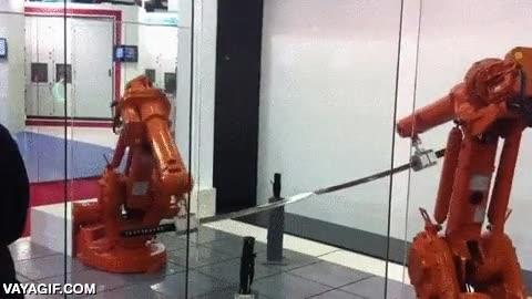Enlace a La precisión de movimiento y fuerza solo al alcance de maestros ninja y de los robots